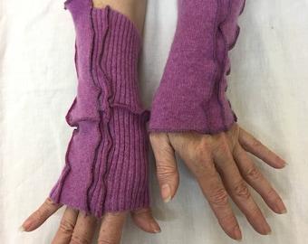Cashmere Sugar Plum Wristlets