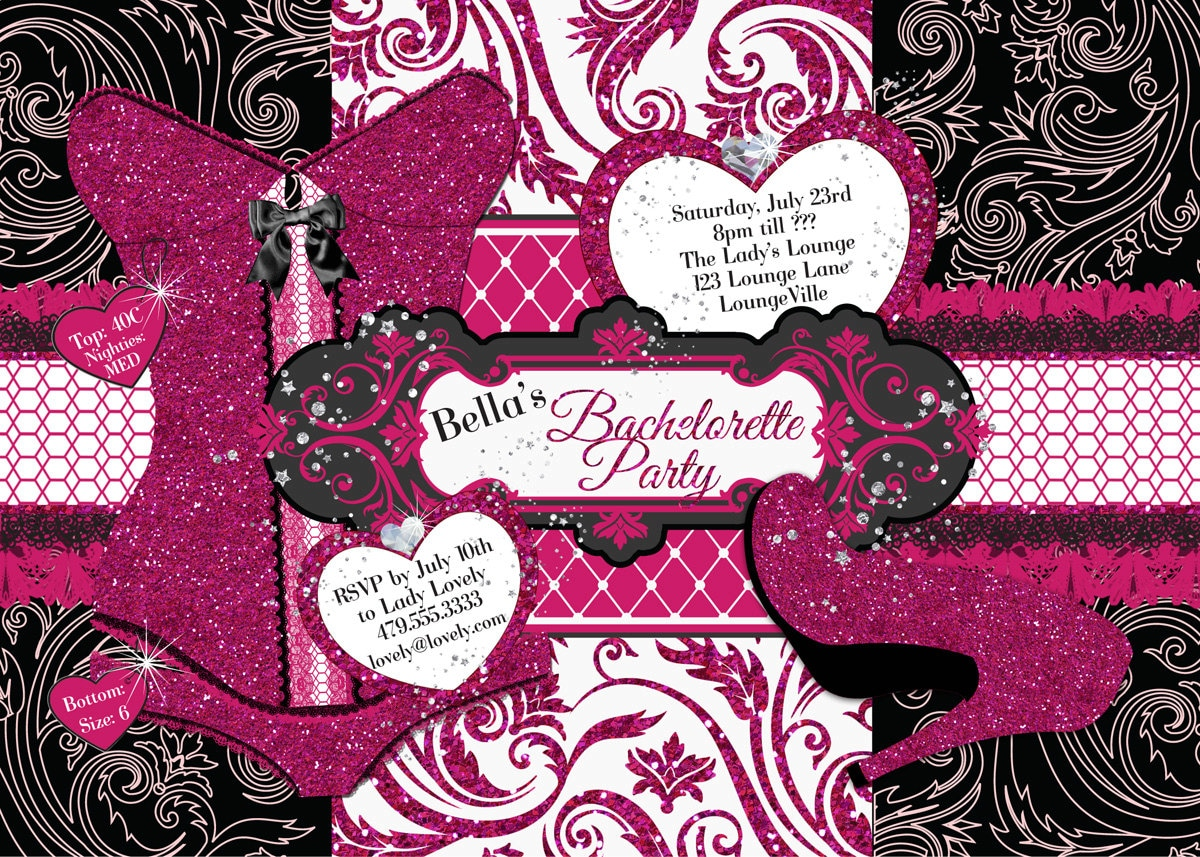 bachelorette party invitations free online - Picture Ideas References