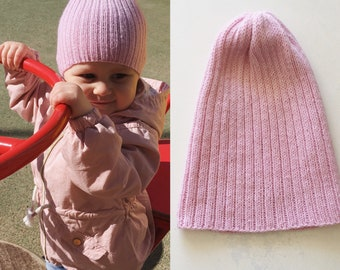 Knitting PATTERN - The Pumpkin baby hat