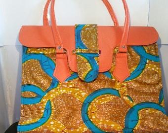 Ankara African print bag