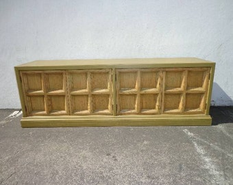 Credenza Console Vintage Regency French Buffet Dresser Chest of Drawers Server Hutch Media Tv Stand Storage Chic Regency CUSTOM PAINT AVAIL
