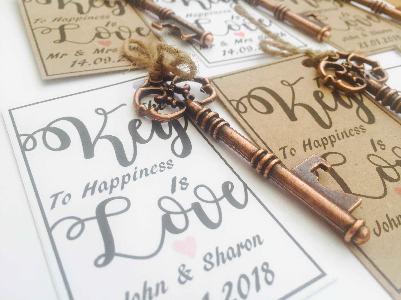 Wedding Favours Bottle opener favours Vintage Key