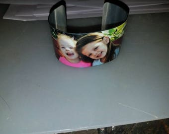 photo cuff bracelet