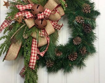 Country Bell Wreath