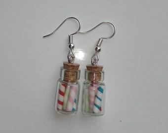 Earrings Gourmet candy jar