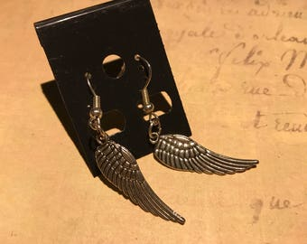 SALE   Angel wing earrings