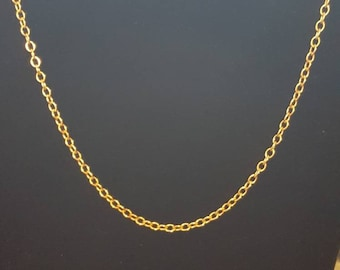 Bronze Oval Cable Chain Made to Order