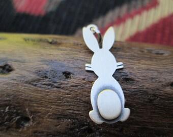 Vintage Beau Sterling Rabbit Charm