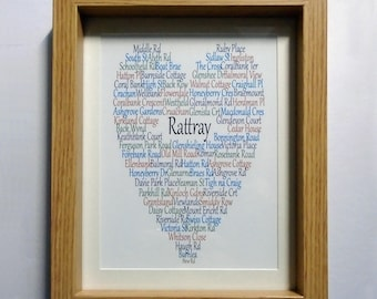 Rattray Print, Framed or Unframed, Rattray Scotland, Claire Kirkpatrick