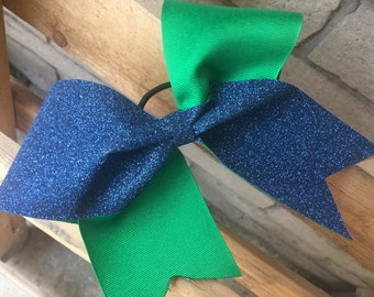 Criss Cross Cheer Bow- Two Colors