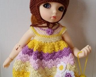 OOAK Yosd/LittleFee 4 Pc Outfit Set Bonnie Bunny