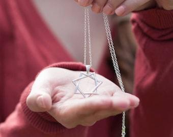 Septagram Necklace - Sterling Silver