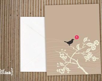 Song Bird Blank Note Cards (8 pk.) - 4.25x5.5