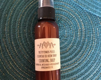 Counting Sheep Essential Oil Spray, Lavender Essential Oil, Lavender Spray, Linen Spray, Bedtime Spray