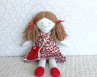 Ragdoll, fabric cloth doll