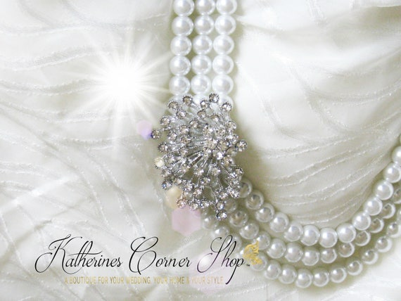 Vintage Wedding Theme Classic Pearl Necklace