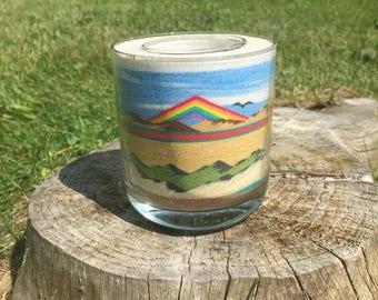 Handmade Desert Sandscape Vase