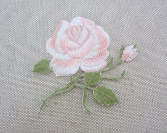 Light Pink Flower Patch, Jeans Appliques