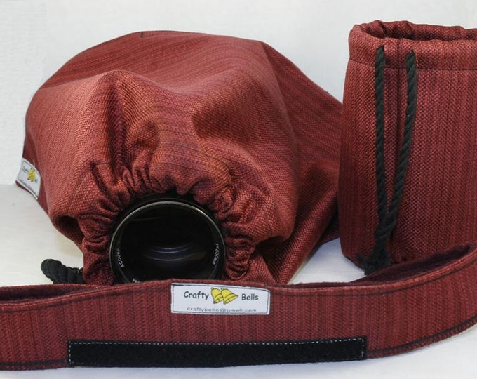 Photography Accessories, Rain Cover Heavy Duty, Protect camera and lens from rain or water splash, carry bag included