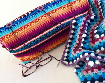 Large Wool Bag, Large Yarn Bag, Yarn Holder, Wool Holder, Yarn Organiser, Large Knitting Bag, Large Crochet Bag, Mothers Day Gift