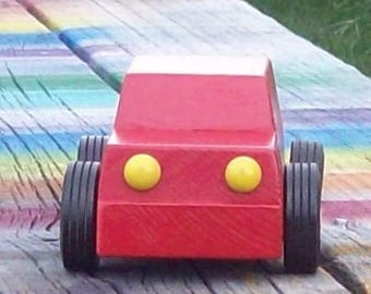 Wooden Car Compact