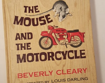 The Mouse and The Motorcycle 1965 Beverly Cleary Hardcover