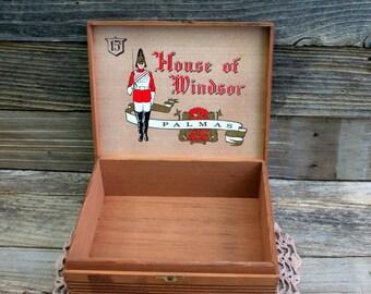 House of Windsor Palmas Wood / Cedar Cigar Box