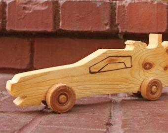 Wooden DeLorean Back to the Future Style