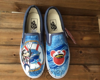 Custom Hand Painted Disney Big Hero 6 Baymax Children's Hi
