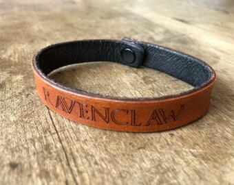 Harry Potter - Ravenclaw - Leather Bracelet