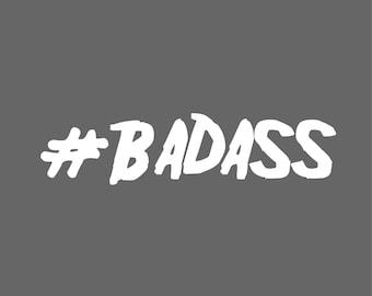Badass Decal