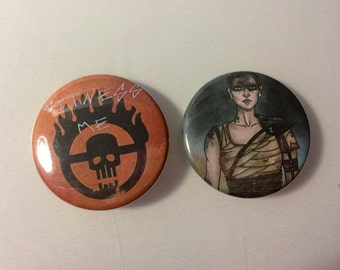 Mad Max: Fury Road Buttons - choose options