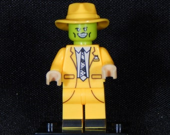 The Mask Inspired Minifig Dark Horse Jim Carrey Building Block Toy