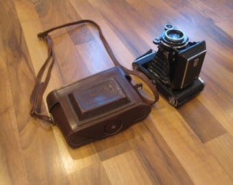 Vintage film photo camera Moscow-5