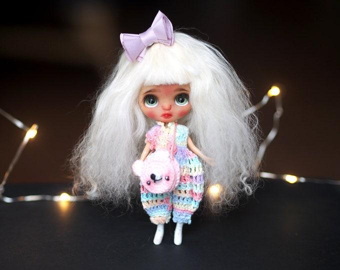 Sarsarblanki Custom Petite Blythe Doll Cinnamon – OOAK handmade custom ブライス PBL プチブライス