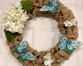 Spring/Summer Butterfly Dreams wreath