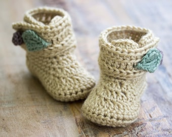 Crochet Pattern, Crochet Booties Pattern, Baby Booties Pattern, Crochet Baby Booties Pattern for Baby Girl, Wrap Booties Pattern