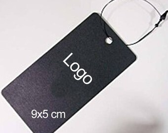 200pcs Clothing label, Custom hang tag, Custom clothing tag, logo tag, custom clothing labels, custom hang tags, Product tag