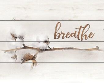 MA2448 - Cotton Stem - Breathe - 18 x 12