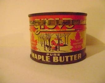 Vintage Grove Pure Maple Butter Tin