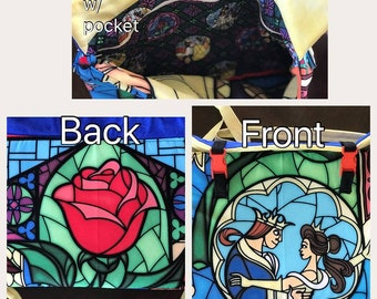 Beauty and the Beast laptop bag