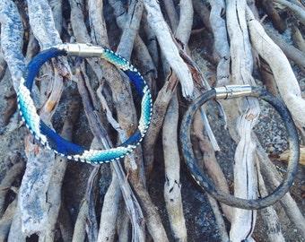 Faux Snake Skin Bracelet