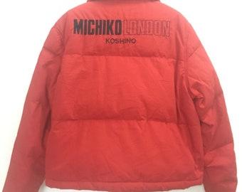 Vintage puffer jacket MICHIKO LONDON