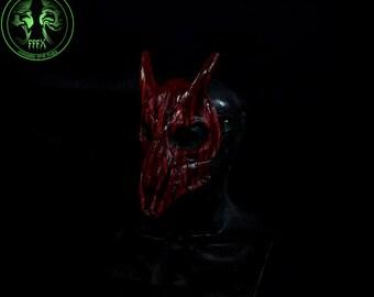 Bloody Goat Skull Mask