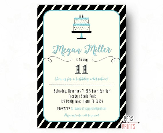Tween birthday invitations teen birthday invitation filmwisefo Gallery