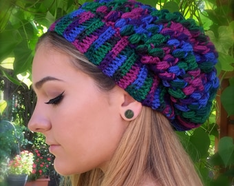 Women's Slouchy Beanie READY TO SHIP! Stunning Colors Quality Wool
