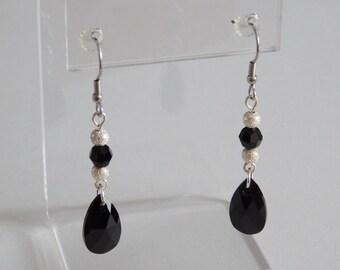 So Raven Earrings