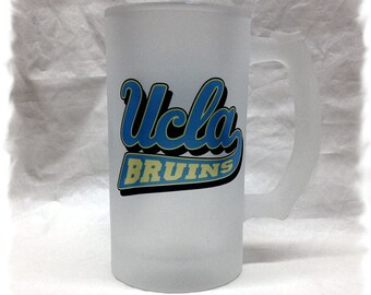 UCLA _ Bruins Frosted 16 ounce Beer Mug