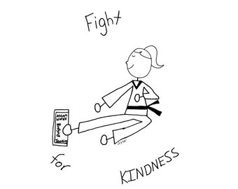 Izzy's T-Shirts for Kindness - Fight for Kindness (Girl)