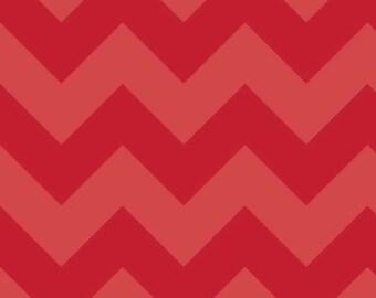 Riley Blake Large Red Chevron SKU# C390-81